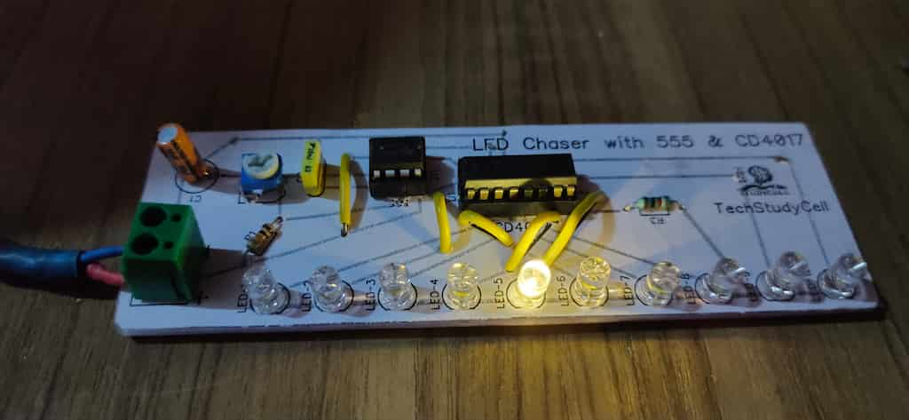 LED chaser Project