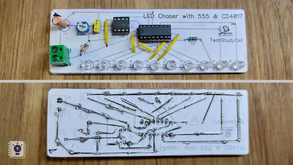 make homemade DIY PCB